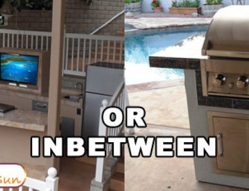 Outdoor Kitchen Size Matters