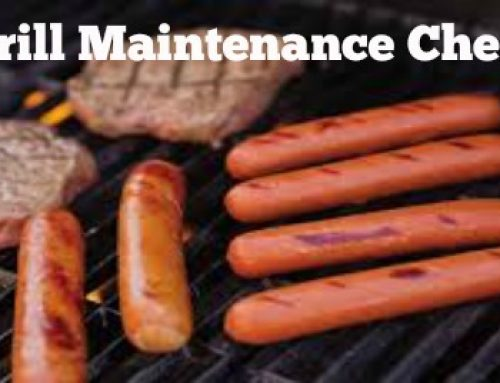 Gas Grill Maintenance Checklist