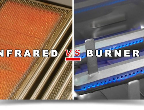 INFRARED vs BURNER GRILLING