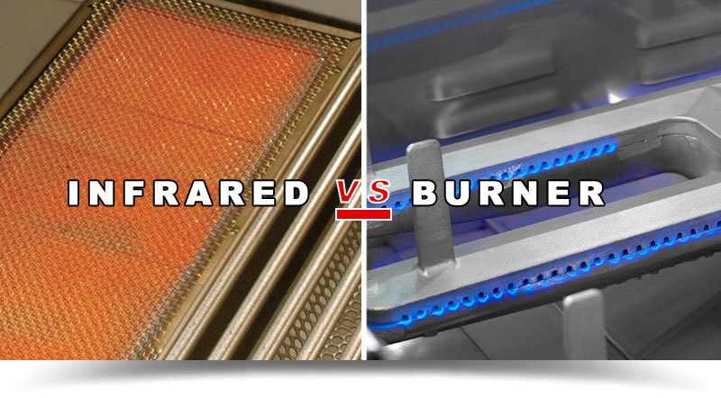 Infrared vs Burner
