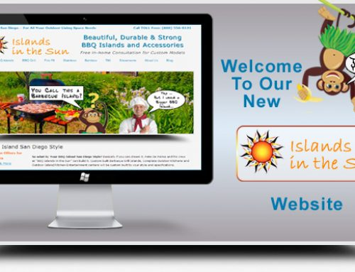 Enjoy Our New BBQ Island Grill Site
