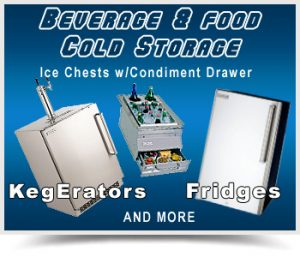 Outdoor Refrigerators and Kegerators