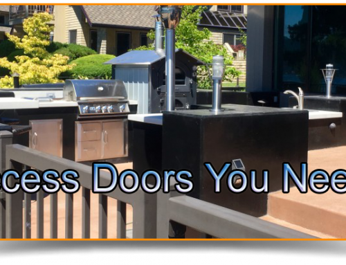 Outdoor Kitchen Doors – Access Doors You Need