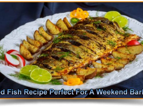 Grilled Fish Recipe Perfect For A Weekend Barbecue