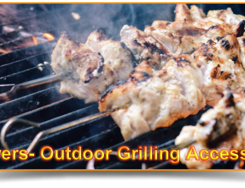 Skewers- Outdoor Grilling Accessories