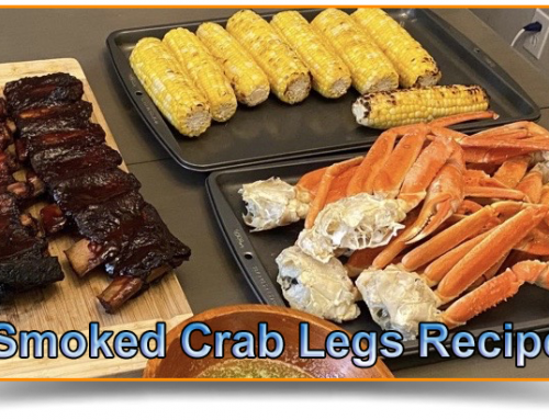 Smoked Crab Legs Recipe