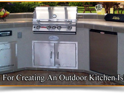 Tips For Creating An Outdoor Kitchen Island