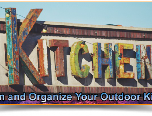 Tips on How to Design and Organize Your Outdoor Kitchen
