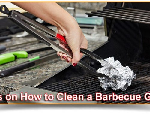 Grill Tips – How to Clean a Barbecue Grill