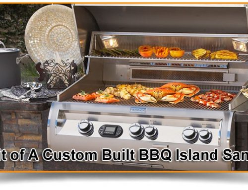 Benefit of A Custom Built BBQ Island San Diego