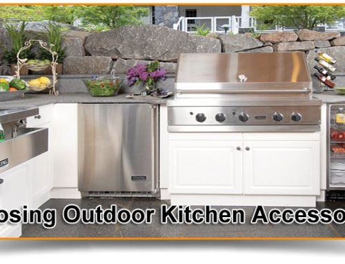 Choosing Outdoor Kitchen Accessories